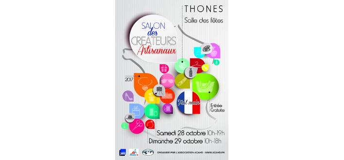 Salon des Créateurs – 28 & 29 octobre 2017 – Thônes