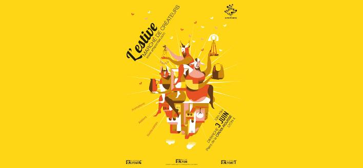 MARCHÉ DES CRÉATEURS – L'Estive – 3 JUIN 2018 – LYON
