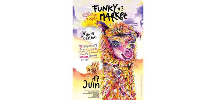 MARCHÉ DES CRÉATEURS – Funky MarKet – 17 JUIN 2018 – LYON