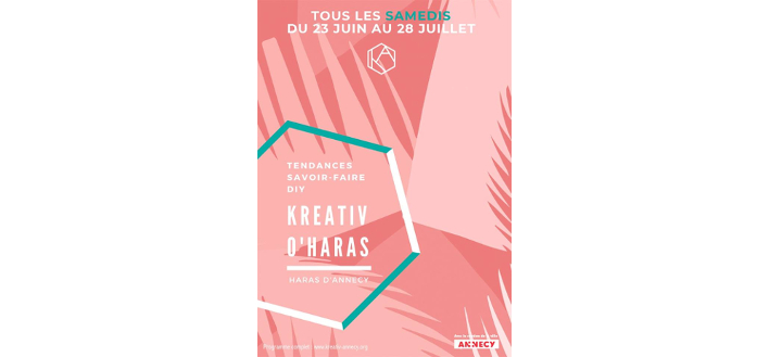KreAtiv O'Haras – 30 JUIN – 7 & 14 JUILLET 2018 – ANNECY