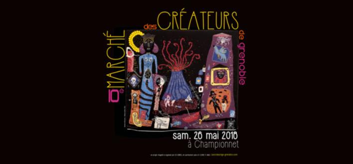 Marché des Créateurs – 26 MAI 2018 – GRENOBLE
