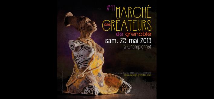 Marché des Créateurs – 25 mai 2019 – GRENOBLE