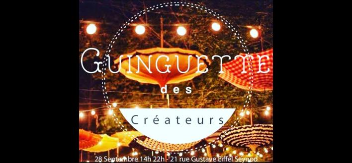Guinguette des Créateurs – 28 septembre 2019 – SEYNOD