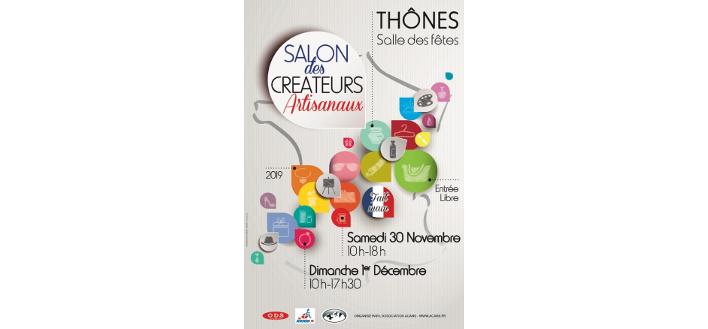 Salon des Créateurs artisanaux – 30 Nov & 01 Dec 2019 – THONES